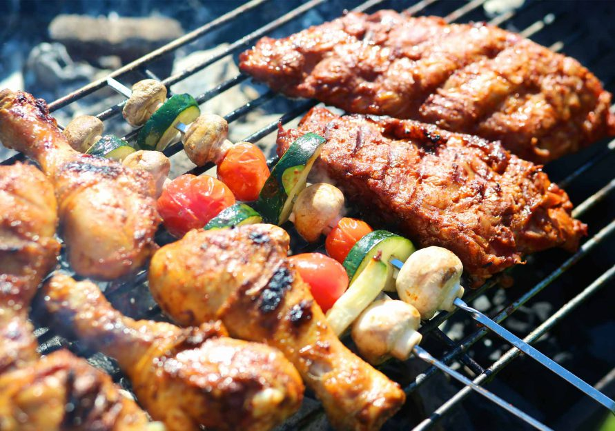 Barbecue And Night Parties